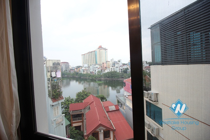 Stunning executive residence apartment for rent in Truc Bach lake, Ba Dinh, Hanoi
