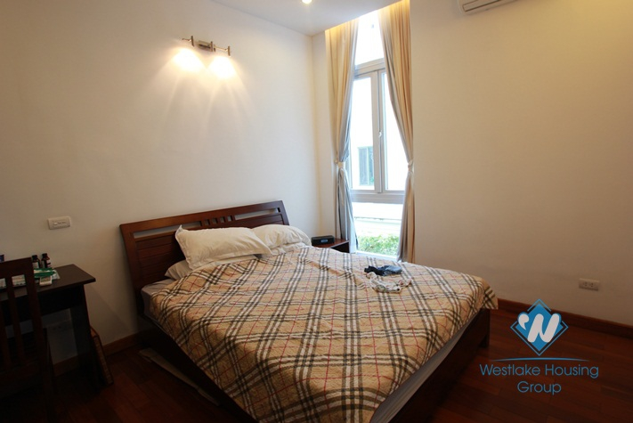 Apartment with a large terrace for rent in Xuan Dieu alley, Tay Ho