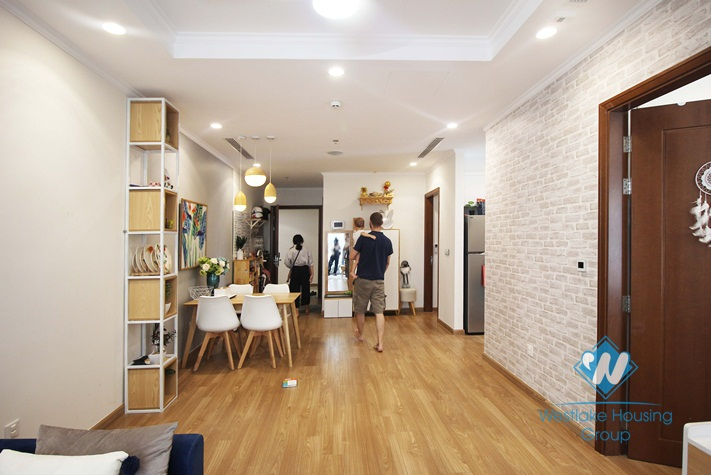 Lovely 2 bedroom apartment for rent in Parkhill Timescity Hanoi