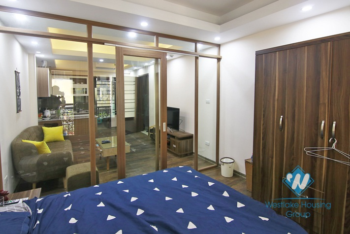 Good priced one bedroom apartment for rent in Dong Da, Hanoi