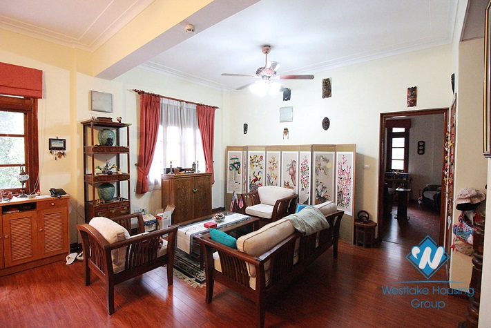 A nice house with swimming pool for rent in Tay Ho area.