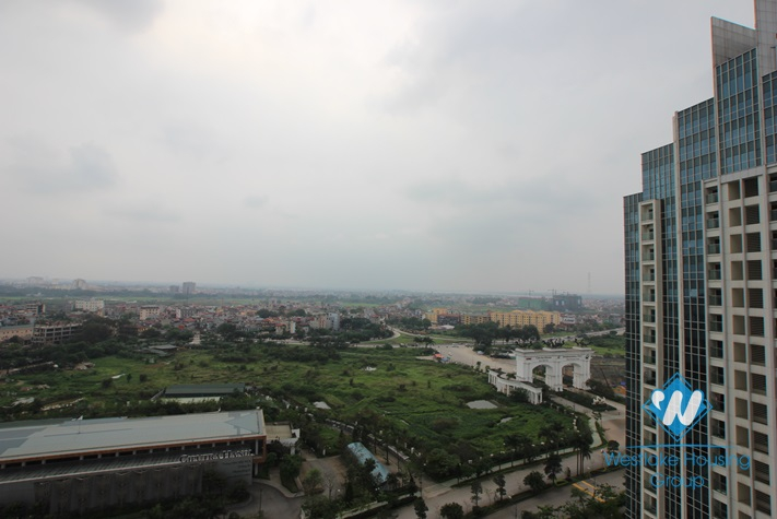 Brand new, bright apartment available for lease in Ciputra, Hanoi