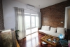 Apartment with nice view for lease in An Duong street, Tay Ho, Hanoi