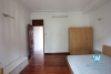 Small house with lake view available for rent on Au Co street, Tay Ho, Hanoi, fully furnished.