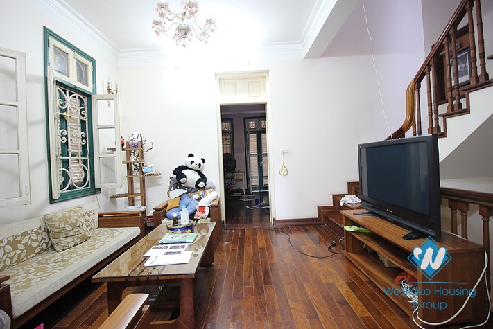 Spacious house with large court yard for rent in Tay Ho, Ha Noi