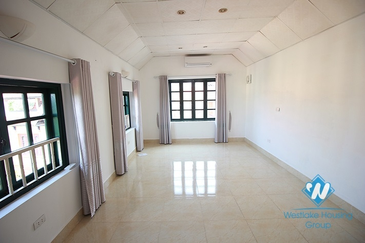 Furnished house with superb design for rent in West Lake, Hanoi