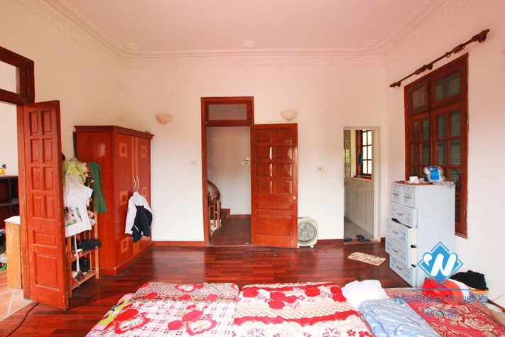 Quiet house for rent in Dang Thai Mai Street, Tay Ho, Hanoi