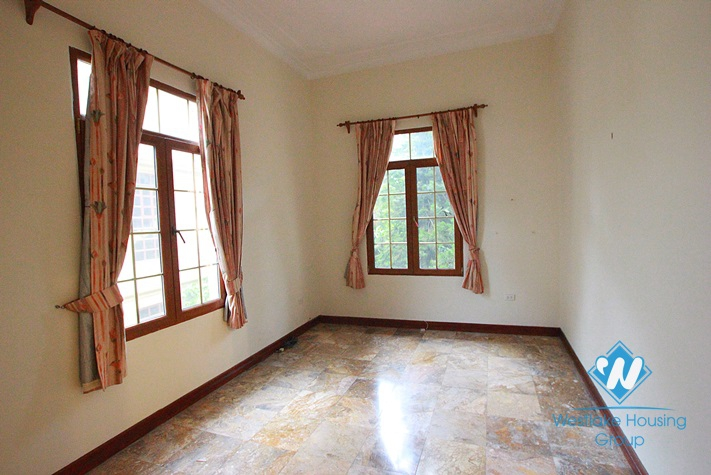 Big house for rent in To Ngoc Van St, Tay Ho, Hanoi