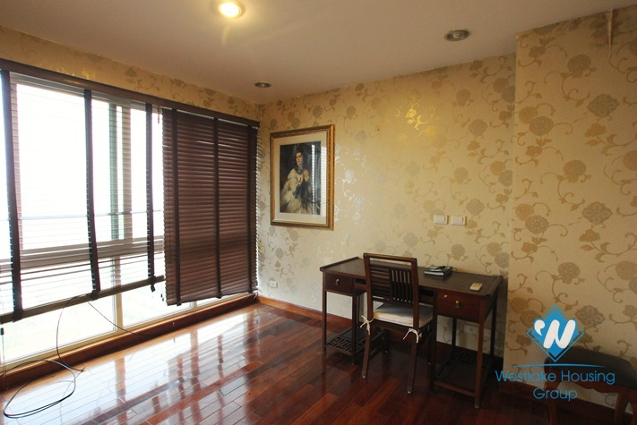 Luxury spacious apartment for rent in Ciputra, Tay Ho, Hanoi