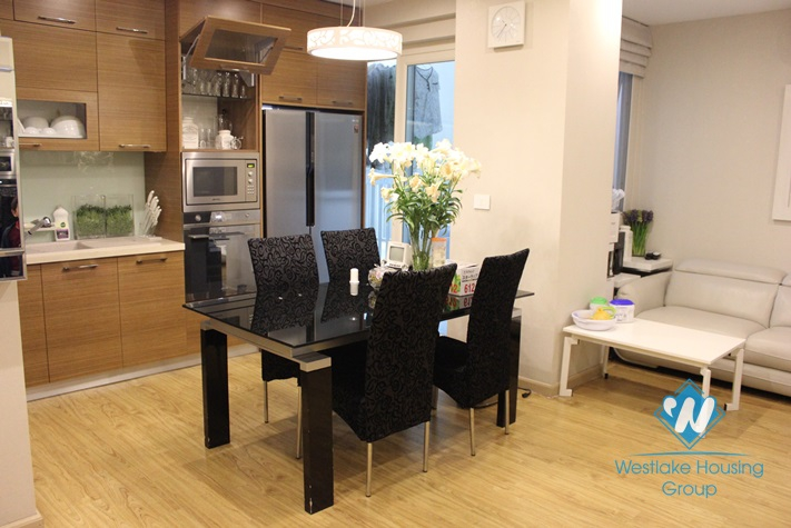 Nice and modern apartment for rent in Ciputra, Tay Ho, Ha Noi