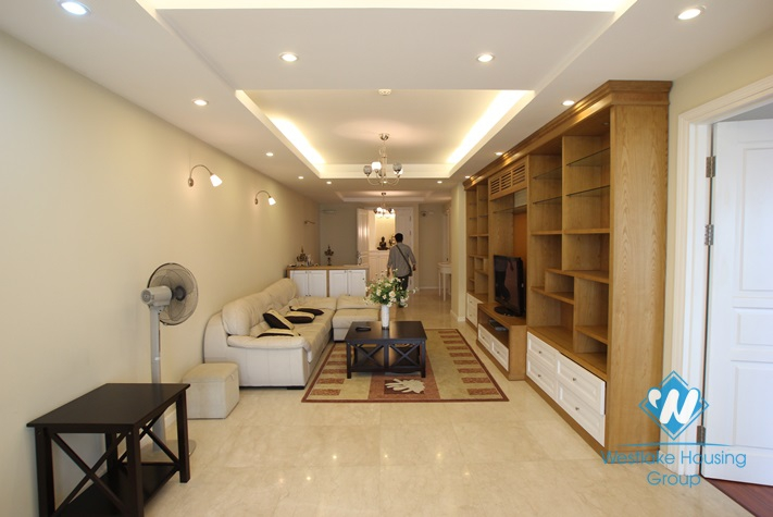 Modern and nice apartment available for rent in Ciputra, Tay Ho, Hanoi