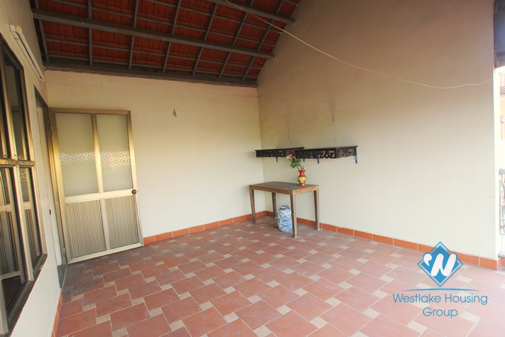 Special traditional house for rent in Au Co, Tay Ho, Hanoi