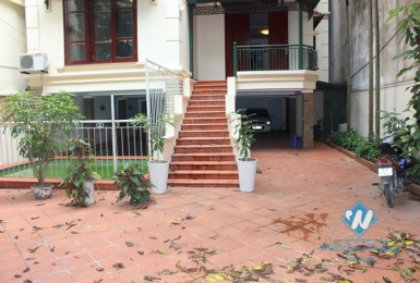 Large house with swimming pool for rent on To Ngoc Van, Tay Ho District.
