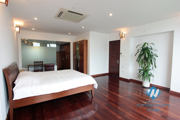 Spacious and beautiful apartment for rent in Tay Ho, Hanoi