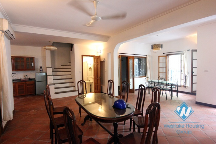 Lovely 3 bedroom house for rent in Tay Ho
