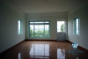 Unfurnished house on the lake side for rent in Tay Ho area, Hanoi.