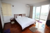 Good quality lake view 2 bedrooms apartment for rent in Truc Bach, Hanoi