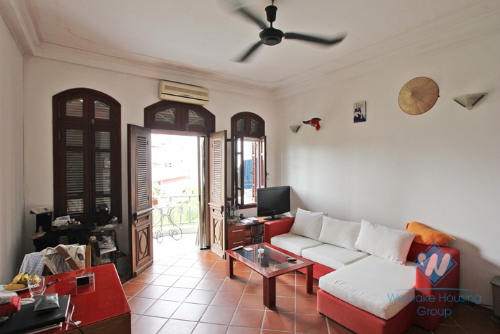 One bedroom apartment for rent in Truc Bach rea, Ba Dinh, Ha Noi