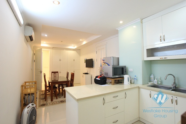 Nice apartment with full furniture available for rent in Ciputra, Hanoi.