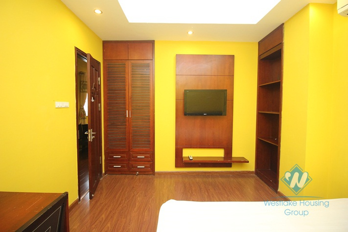 Classic apartment for rent in Hoan Kiem District