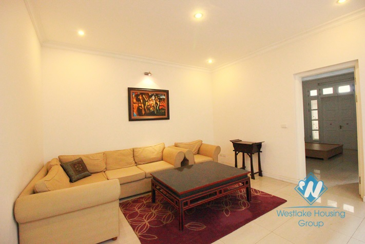 Charming house for rent in T block, Ciputra, Tay Ho, Hanoi