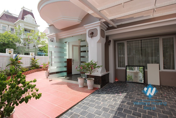 Stunning and luxurious house for rent in Ciputra, Tay Ho, Hanoi