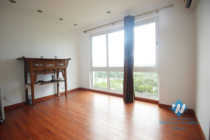 Finest vintage-designed apartment available for rent in Ciputra, Tay Ho, Hanoi