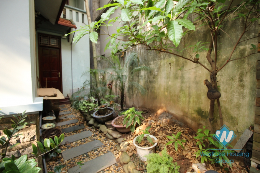 A beautiful villa house for rent near Ngoc Khanh, Kim Ma, Ba Dinh
