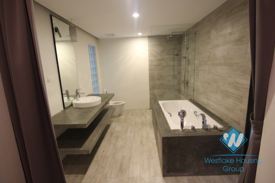 Modern and subtle designed house for rent in Tay Ho, Hanoi