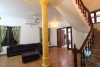 Nice bright house with yard available for rent on Au Co street, Tay Ho, Hanoi