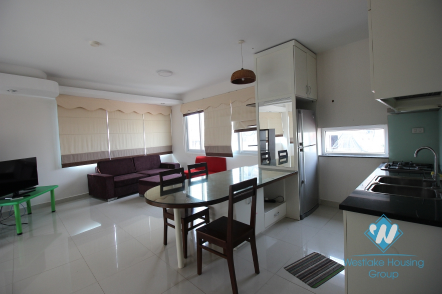 Modern apartment with 2 bedrooms for rent in Tay Ho, Hanoi