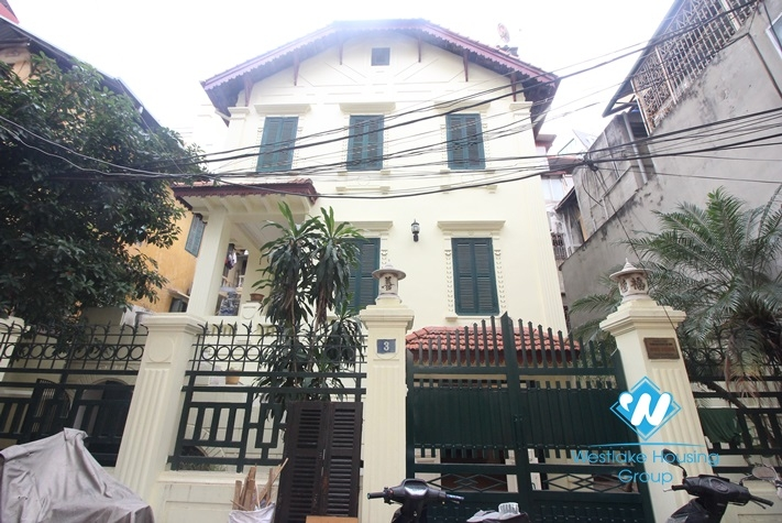Beautiful house for rent in old quarter, Ha Noi City