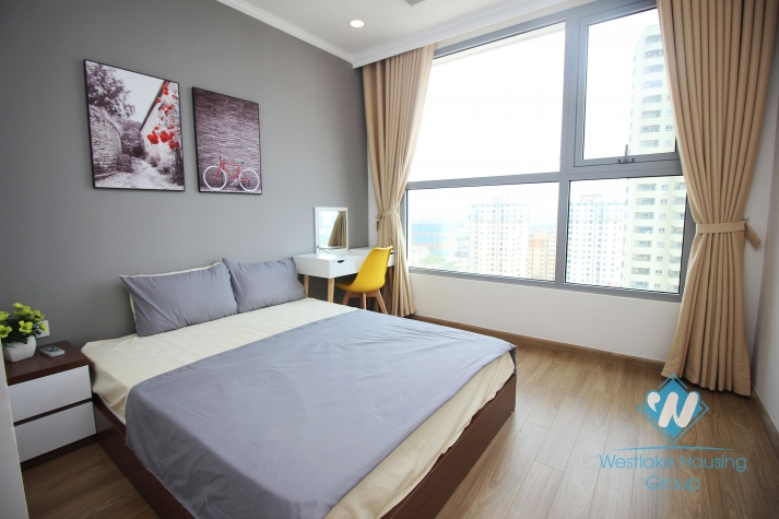 A lovely apartment for rent in Vinhome Gardenia, Nam Tu Liem district, Ha Noi
