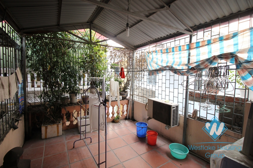 Three bedroom house for rent in Ba Dinh, Hanoi