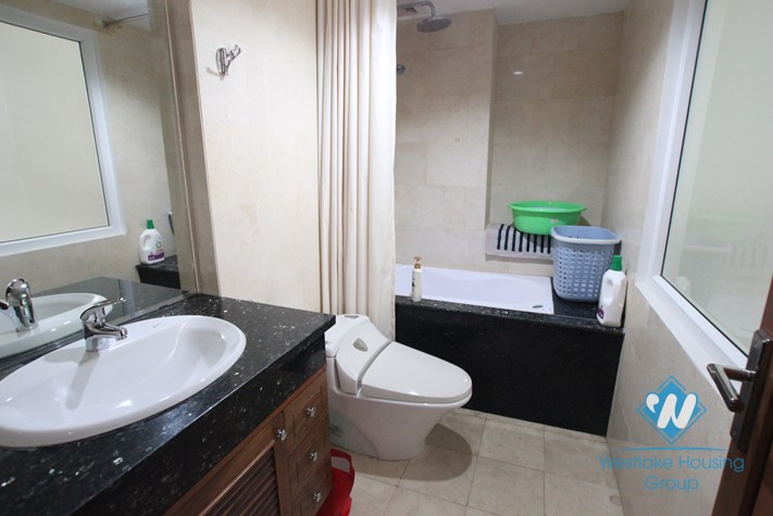 Apartment for rent in Truc Bach, Ba Dinh, Ha Noi