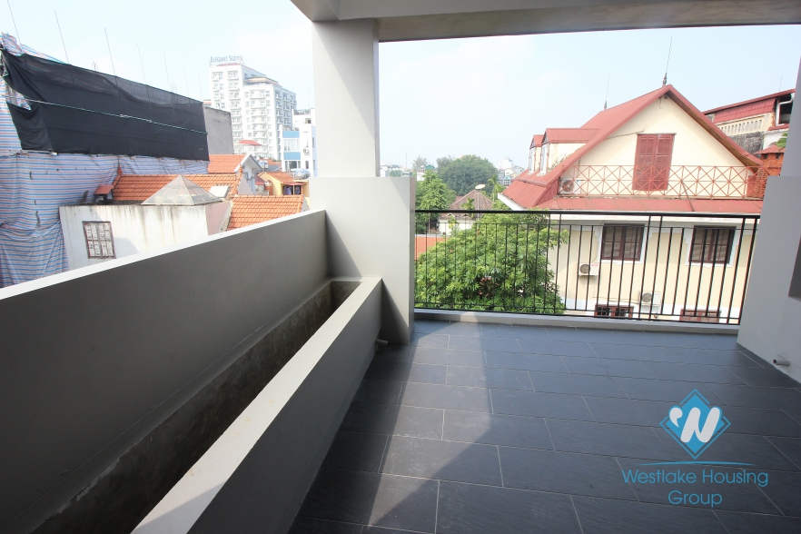 Being rebuilt and renewed house with 5 floors for rent in Tay Ho, Ha Noi