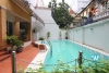 Nice house with outside swiming pool for rent in Tay Ho, Ha Noi