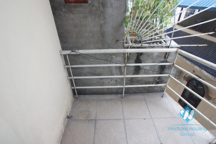 Studio apartment for rent in Au Co Street, Tay Ho, Ha Noi