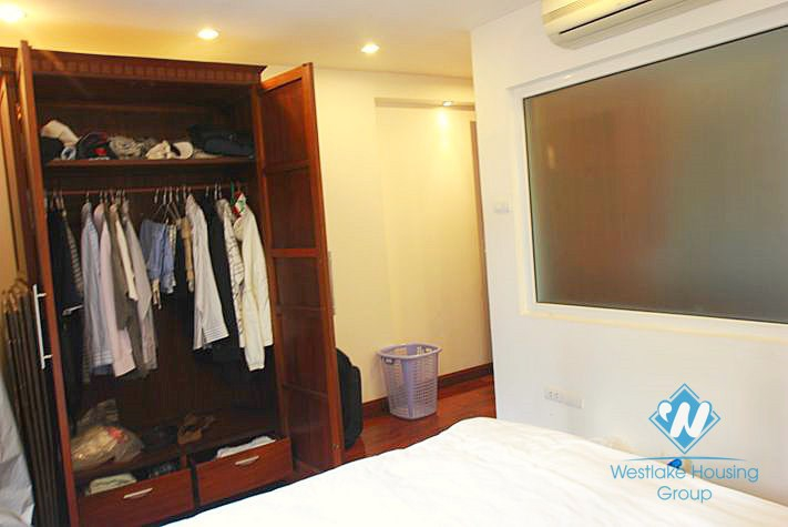 Furnished and serviced apartment in Truc Bach area, Ba Dinh, Hanoi