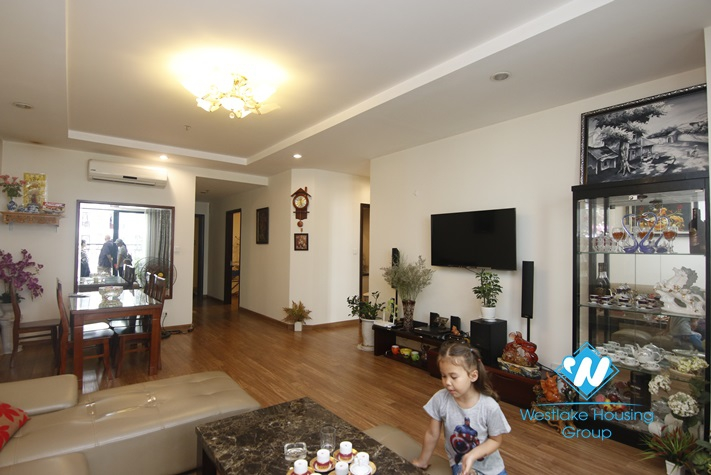 110 sqm 02 bedrooms apartment for rent in Time City, Hanoi.