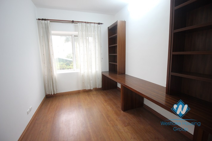 A large apartment waiting for full furnitures  for rent in G Ciputra International Ha Noi City