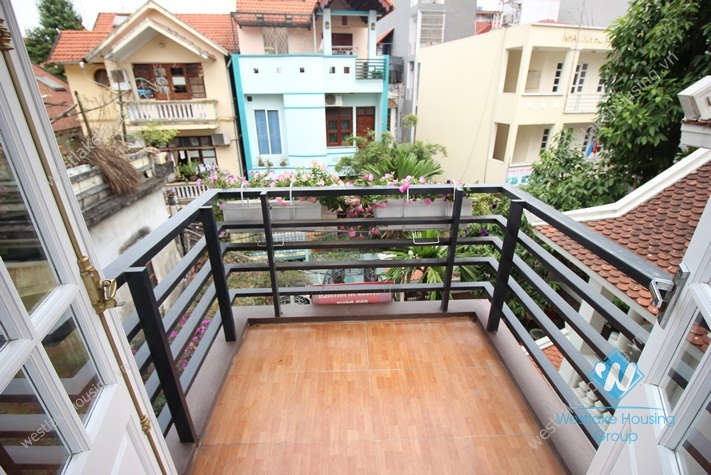 Beautiful modern studio apartment for rent in Tay Ho, Hanoi