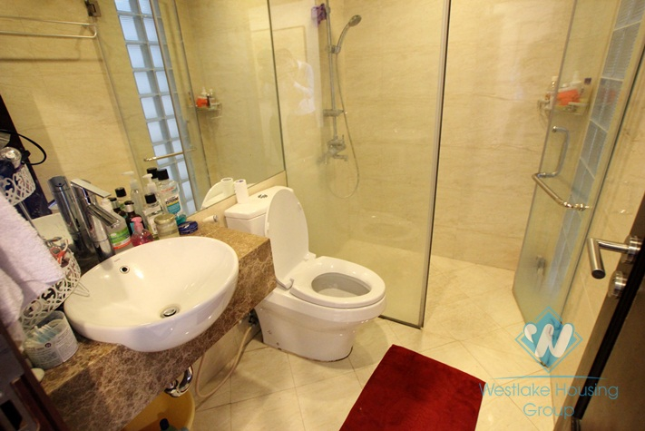 Modern 02 bedroom apartment for lease in Truc Bach area, Ba Dinh, Hanoi