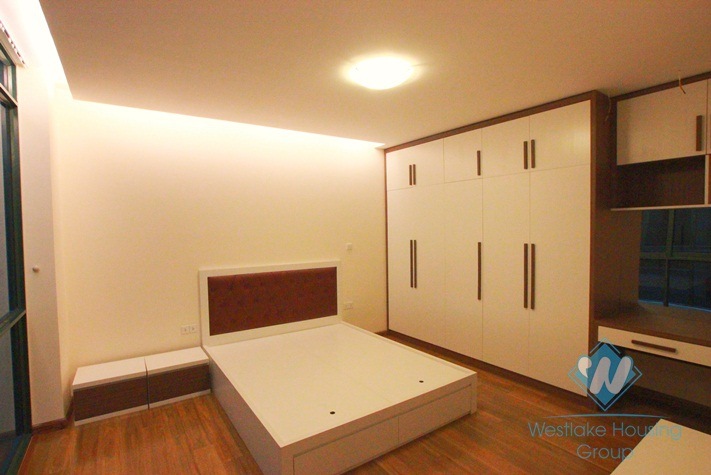 Brand new, luxury apartment for rent in Truc Bach area, Hanoi