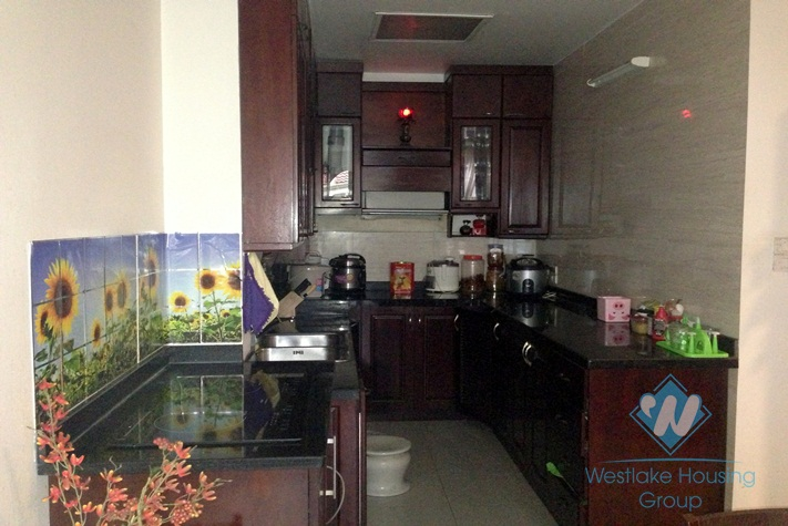 Beautiful house with glass window for lease in Truc Bach, Ba Dinh, Hanoi