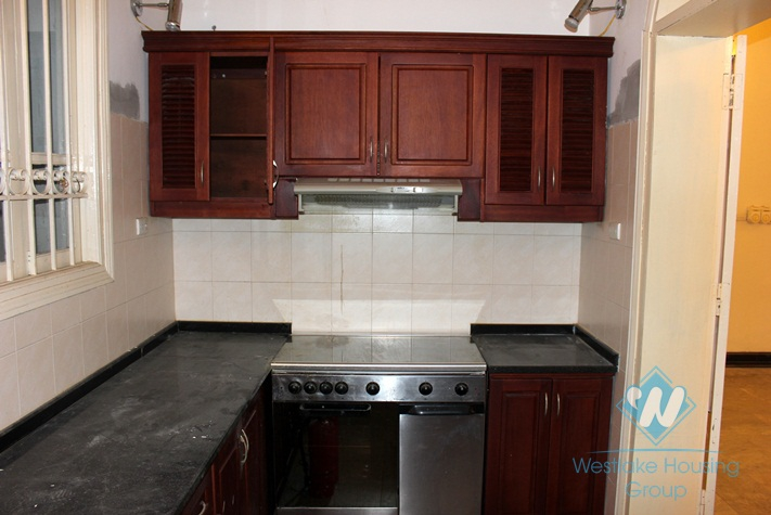 Semi-furnished house for rent in Ba Dinh, Ha Noi