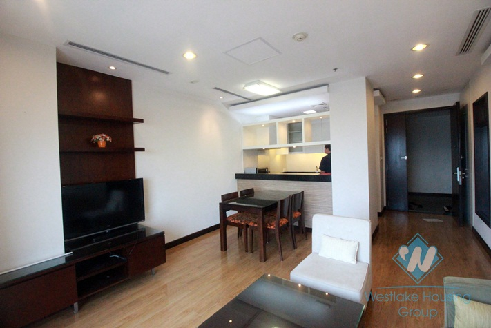 Beautiful 02 bedrooms apartment for rent in Hoa Binh Green, Ba Dinh, Hanoi