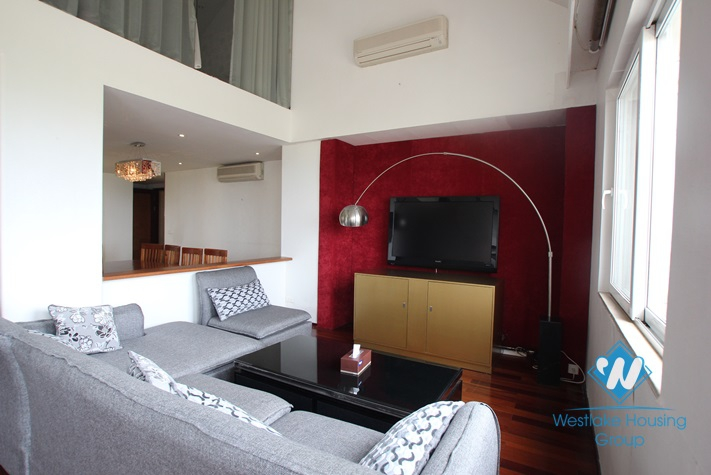 Nice penthouse available for lease in Ciputra, Tay Ho, Hanoi- fully furnished