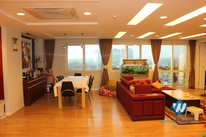 Large size apartment for rent in Ciputra, Hanoi