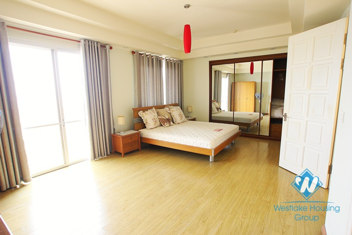 High quality apartment for rent in E tower Ciputra, Tay Ho district, Hanoi
